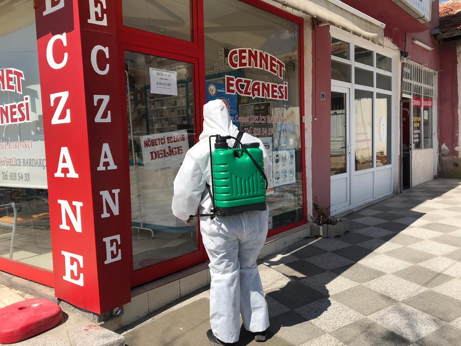 Delice'de ücretsiz maske dağıtıldı 4 - Delice'de ücretsiz maske dağıtıldı