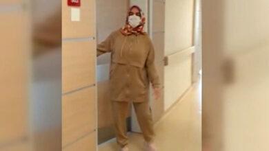 Photo of Koronavirüsü yenen hemşire taburcu oldu
