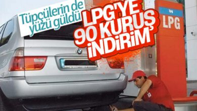 Photo of LPG'ye İndirim Yolda