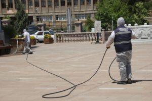 Kırıkkale 1 300x200 - Belediye cami ve pazar alanlarını ibadete hazırladı
