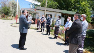 Photo of Başkan Saygılı Belediye Personelleri İle Bayramlaştı