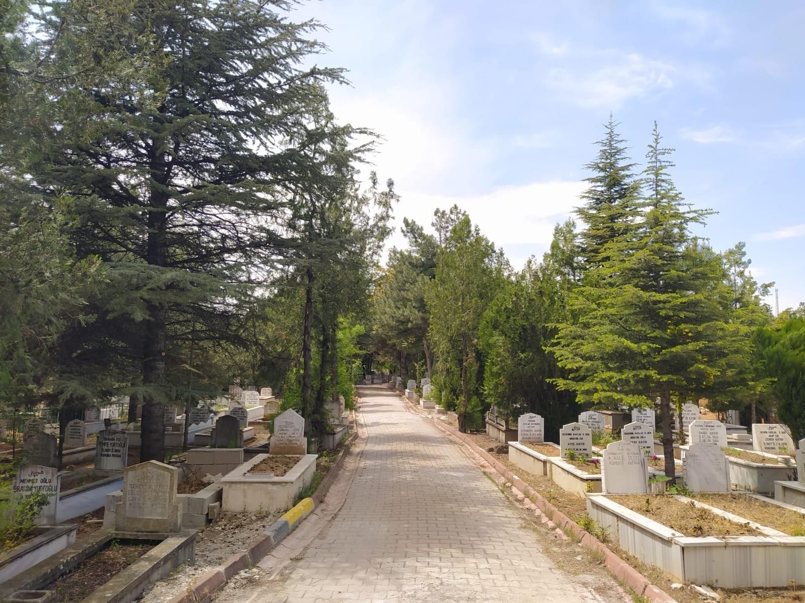 Kırıkkale Mezarlık - Kırıkkale'de mezarlıklara özel bakım yapıldı