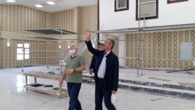 Photo of Öztürk, Keskin öğretmen evi çalışmalarını inceledi