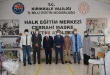 Photo of Maske Atölyesini Ziyaret Ettiler