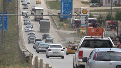 Photo of Kırıkkale, Kilit kavşakta trafik yoğunluğu
