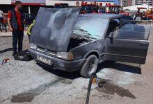 Photo of Kırıkkale'de araç yangını