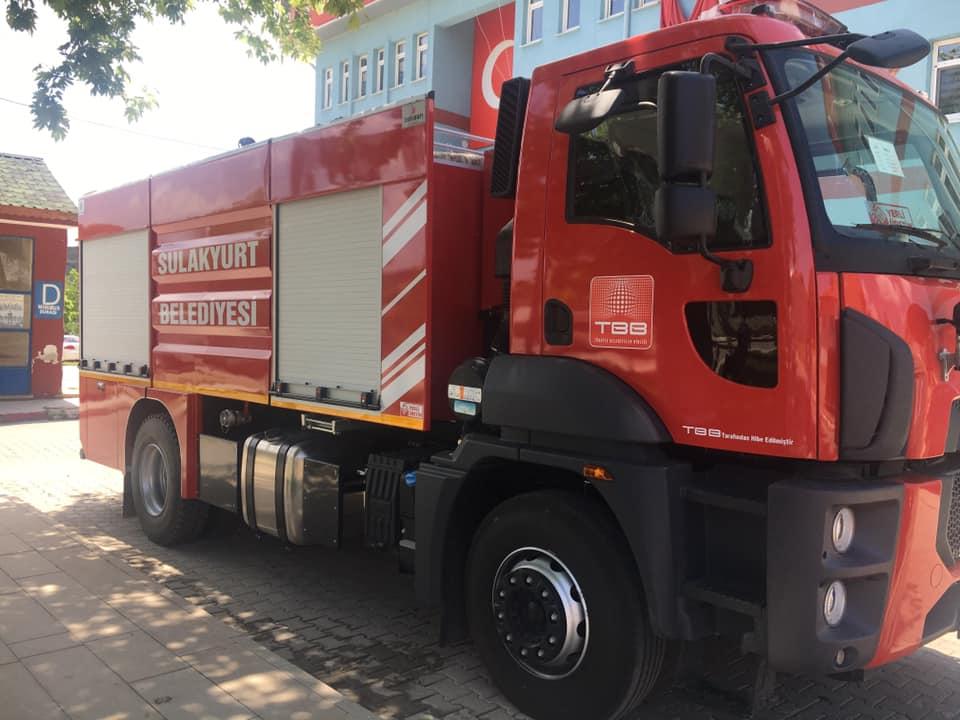 Kırıkkale 3 - Sulakyurt Belediyesi araç filosunu genişletiyor