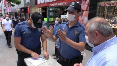 Photo of Kırıkkale'de 'maske' denetimi yapıldı: 1 saatte sadece 2 kişiye ceza kesildi