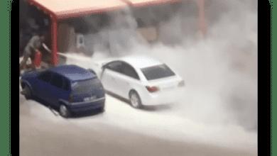 Photo of Kırıkkale'de park halindeki otomobilde yangın