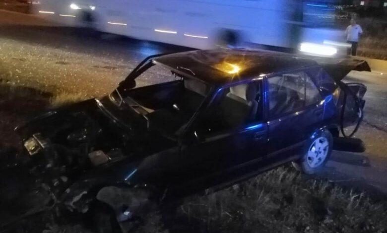 Photo of Kırıkkale'de peş peşe gelen kazalarda araçlar hurdaya dündü