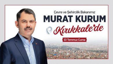 """Photo of Bakan Kurum """"Halifeli Suyunu"""" açmaya geliyor"""