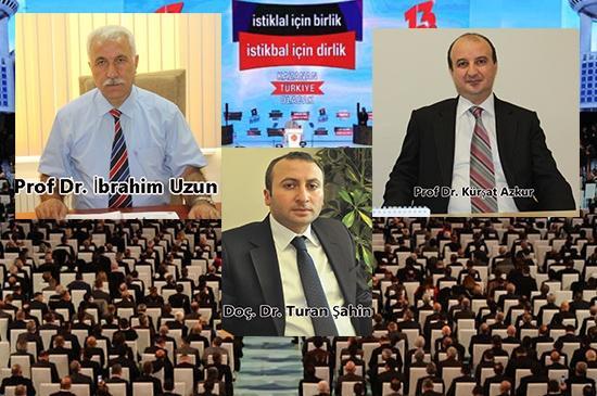 MYK'ya Kırıkkale'den 3 İsim