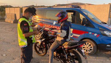 Jandarmadan Motosikletlere Yönelik Huzur ve Güven Uygulaması
