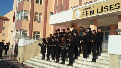 Kırıkkale Fen Lisesi Gurur Tablosu Oldu