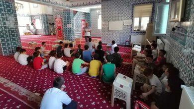Kuran Kursları Öğrencilerine Afet Farkındalık Eğitimi