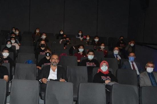 AKİF Filmi Öğrencilerle Buluştu