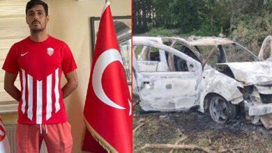 Kırıkkaleli Futbolcu Yanan Arabanın İçinde Ölü Bulundu