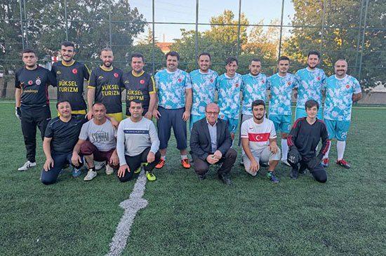 Sulakyurt'ta Futbol Turnuvası